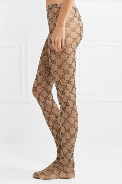 eb865ab0030a9 Gucci - Intarsia tights in 2019 | Now That's Trendy | Tights, Gucci ...