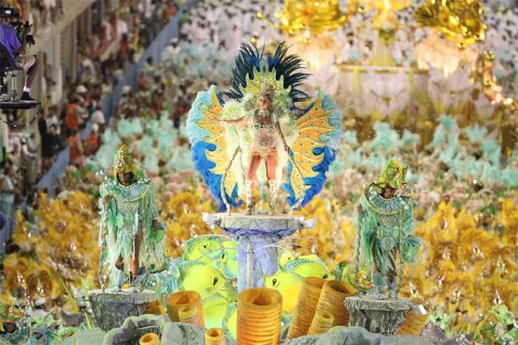 Carnival in Rio de Janeiro, Brazil.    The biggest parade in the world is held before Lent