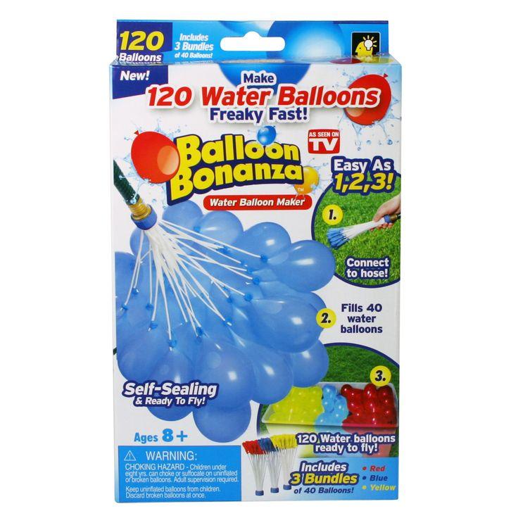 As Seen On TV Balloon Bonanza Water Balloon Maker – 120 Count