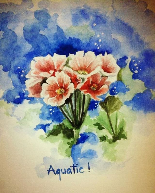 #watercolor #oilpainting #paint #painting #artist #art #arte #artwork #artistic #masterpiece #artoftheday #gallery #painter #portrait #vuaquatic #flower #beautiful .