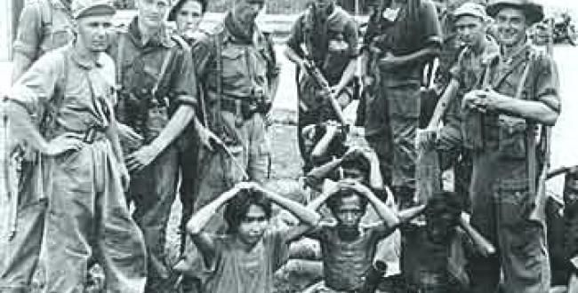 Dutch crimes in colonial Indonesia – time for a review?  Published on : 19 June 2012 - 8:37pm | By Johan van der Tol (photo: ANP)  Three major Dutch institutions are calling for a new investigation into the violence used by Dutch soldiers to counter the struggle for independence in colonial Indonesia between 1945 and 1949. They say Indonesian scholars should take part in the historical review.