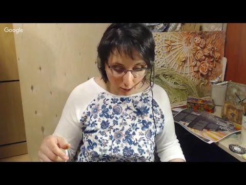 Вебинар.Диана Январева.Короб для рукоделия: цвет и уют.