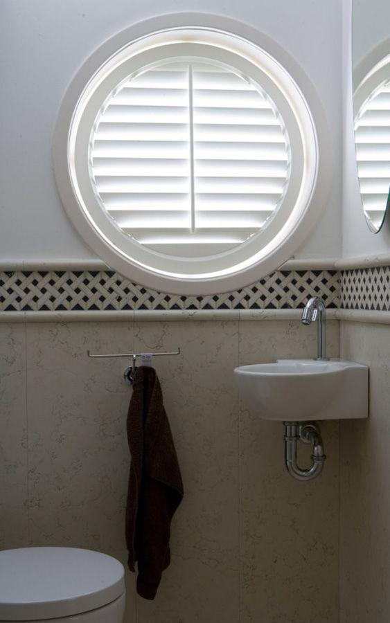Jasno shutters mooi voor ronde ramen