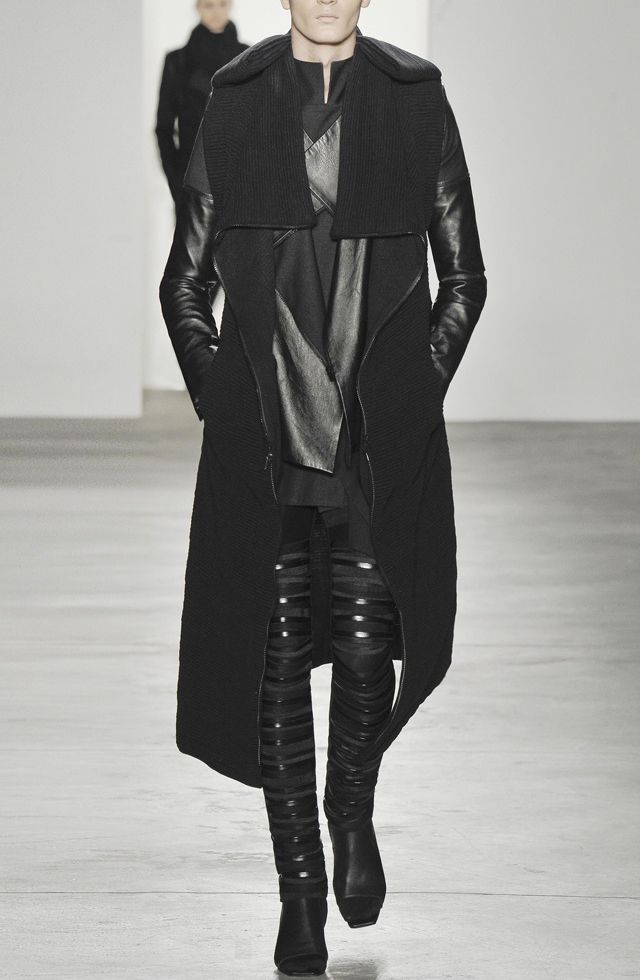 These pants, these pants, these pants. Rad Hourani out there