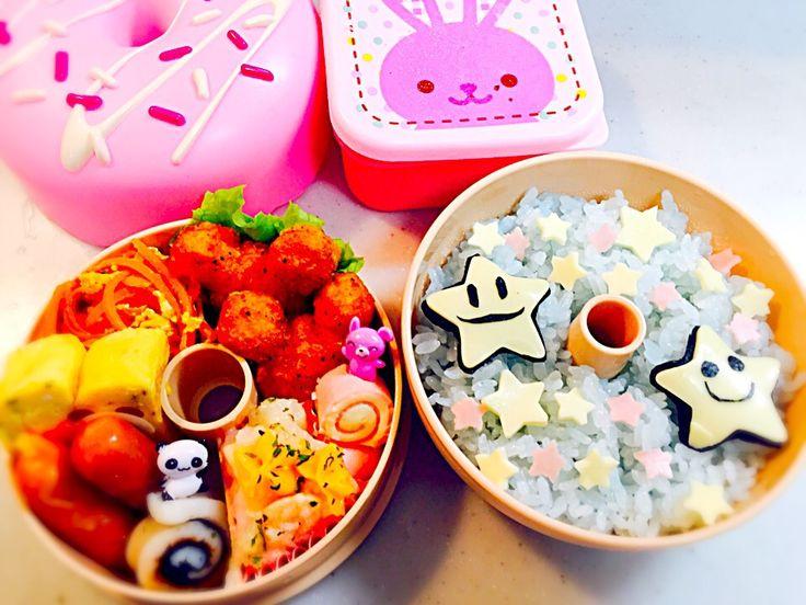 美穂's dish photo 七夕弁当   http://snapdish.co #SnapDish #キャラ弁 #お弁当 #七夕