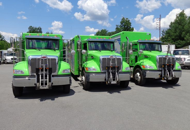 Peterbilt Green In 2020 Trucks Hand Trucks Truck Transport