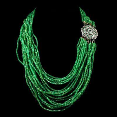 collier perle marocain