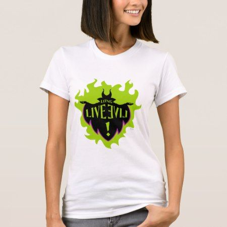 Maleficent - Long Live Evil T-Shirt - click to get yours right now!