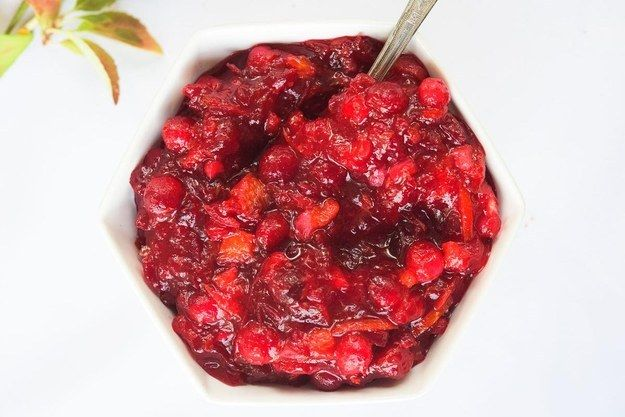 Transfer to a serving bowl and put it on everything. | DIY Cranberry Sauce Is The Easiest Thing You'll Make All Year
