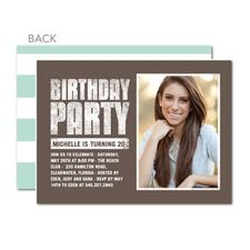 397 best cute custom birthday party invitations templates images on party hardy custom personalized birthday party invitations filmwisefo Image collections