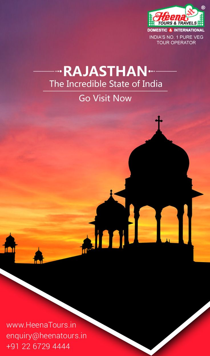 Rajasthan Tour Packages - The Incredible State of India.