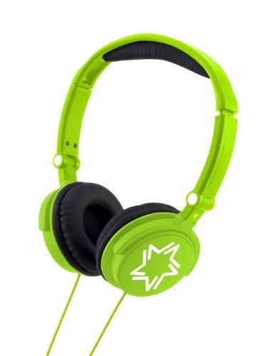 LEXIBOOK Bright Green Stereo Headphones by LEXIBOOK. $14.99. Sensitivity of 85 dB to protect your hearing. Frequency response: 10-24,000 Hz. Compatible with all audio and video players with headphones jack output. From the Manufacturer                Very light, you can take this headset everywhere with you. You can adjust the size so that it fits your head. Handy folding design: you can store it easily in your bag. Frequency response: 10 - 24,000 Hz. Impedance (ac...