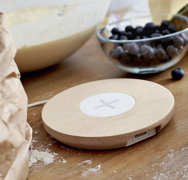 Induction-charging Stations into Home Furnishings: Smart Homes