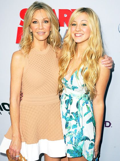 Heather Locklear's daughter Ava (dad is Bon Jovi guitarist Richie Sambora) is growing up to look just like mom!