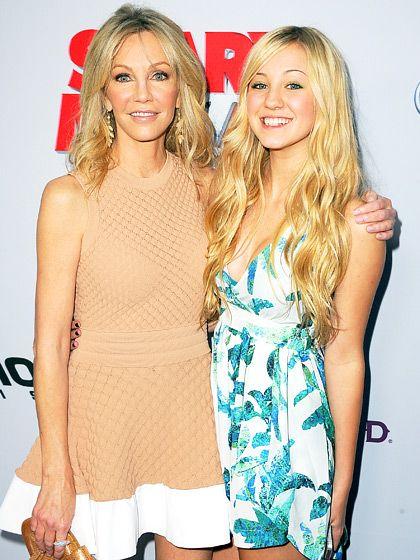Heather Locklear's daughter Ava (dad is Bon Jovi guitarist Richie Sambora) is growing up to look just like mom!