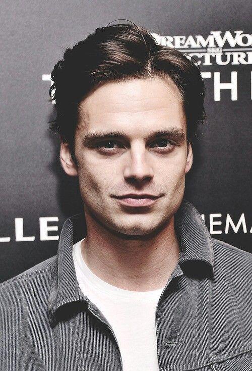 Sebastian Stan... His hair, his smile & his smoldering eyes.