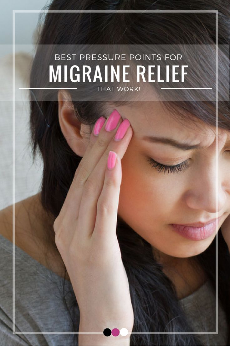 Time to uncover the best migraine relief pressure points that work!