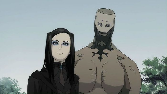 15 Post-Apocalyptic Anime To See Before The World Ends  | Post-Apocalyptic Anime, Ergo Proxy, Iggy, Re-I Mayer |  At times, Ergo Proxy seems like the perfect fusion of Ghost in the Shell and Blade Runner. Partly because the heroine Re-l Mayer seems like she's channeling both Motoko Kusanagi and Rick Deckard as she goes about her investigations. Nevertheless, she's a unique character in a deep and complex story that is sure to keep you hooked.