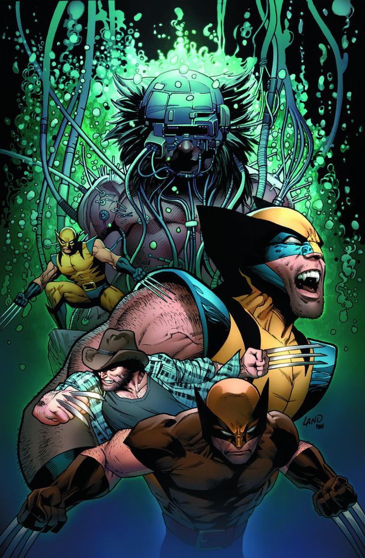 GREG LAND ART | Greg Land's Death of Wolverine #4 Variant Cover