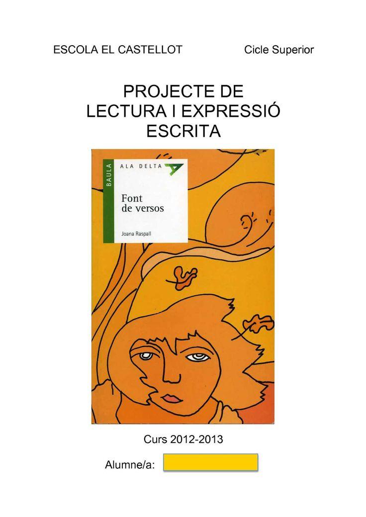 """Dossier de treball de la poesia de Joana Raspall basada en el llibre """"Font de versos"""". Adreçat a Cicle Superior de Primària, tot i que, amb les adaptacions pertinents, pot aprofitar-se a Cicle Mitjà o Primer Cicle d'ESO. Inclou un..."""