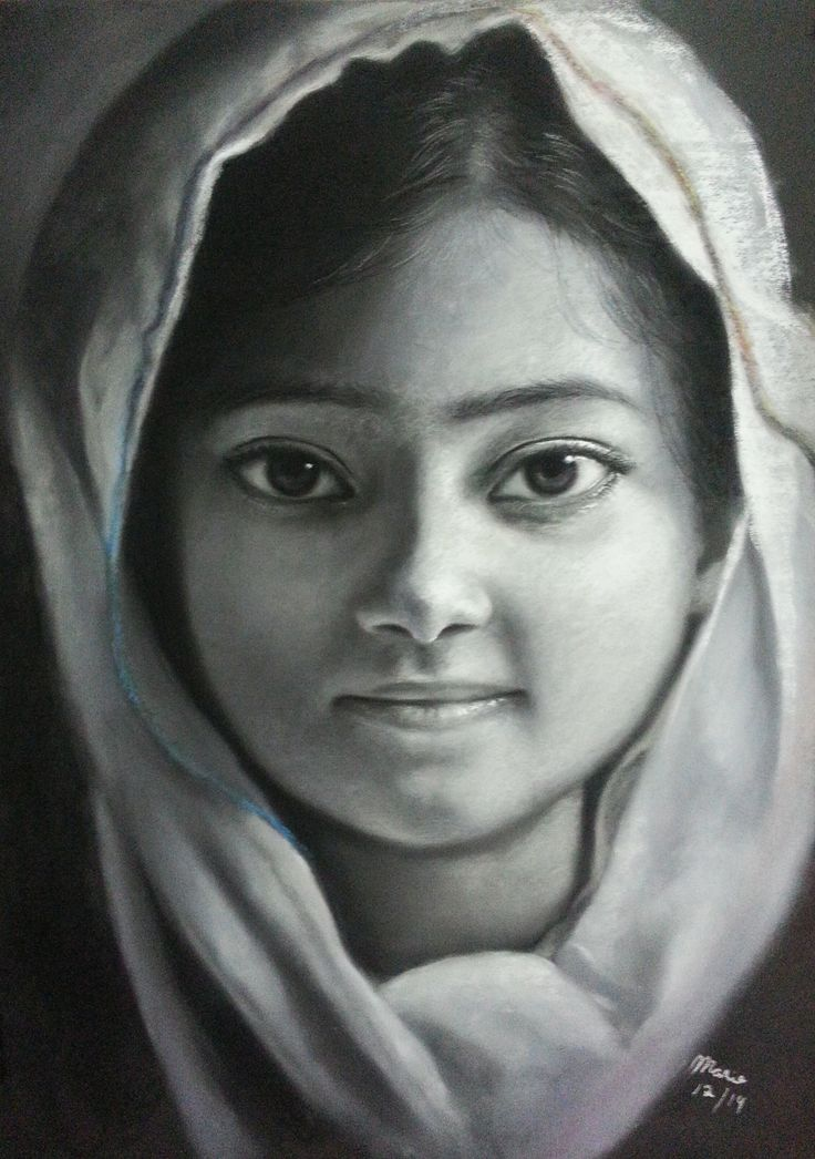 Diversidad 1 22 x 30 in Pastel on Canson board