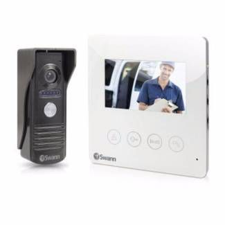 "Swann Doorphone Video Intercom With Colour 4.3"" LCD Monitor 