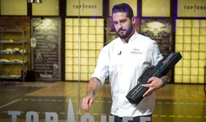 Peña, el 'galán' de Top Chef, abandona el concurso a sólo tres programas de la final