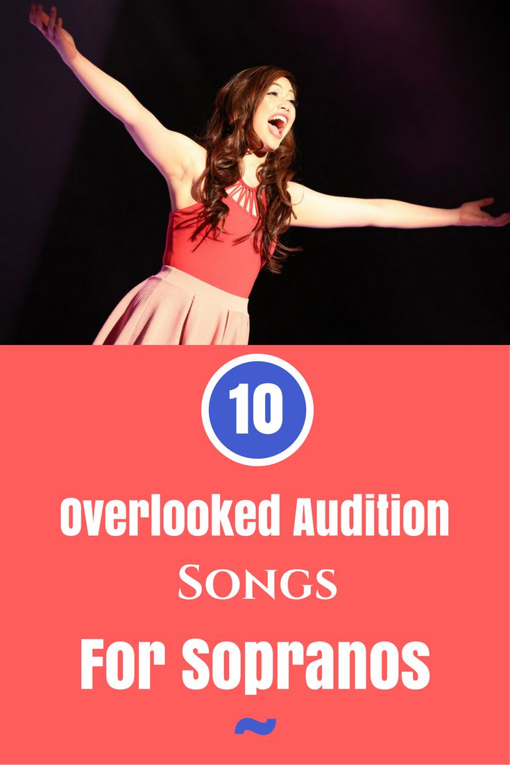 Some great audition songs for sopranos! #sopranos #auditions