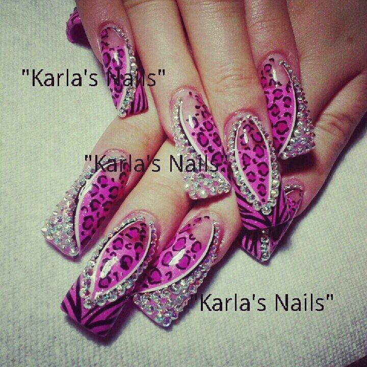Cute Bling! Nail Art