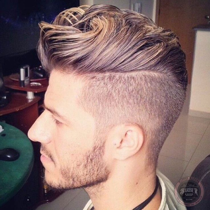 High contrast ------------------- Whoa! this hairstyle is so awesome!
