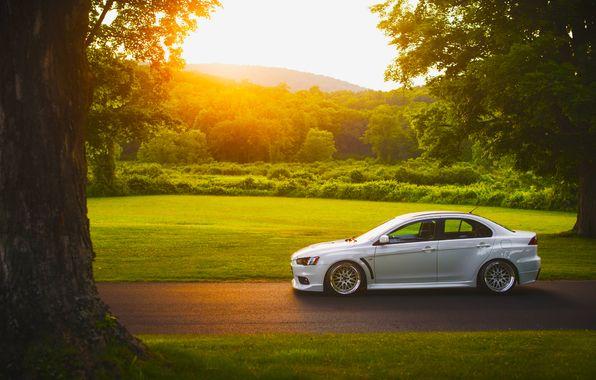 car Mitsubishi wallpaper sunset - Recherche Google