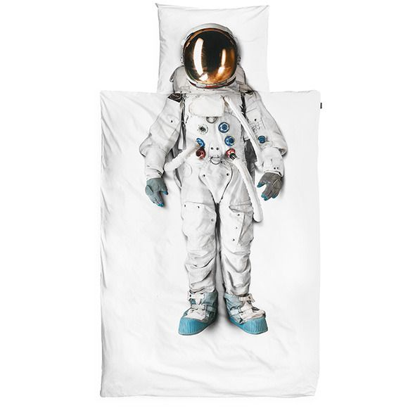 Snurk Astronaut Single Doona Cover | Krinkle Gifts