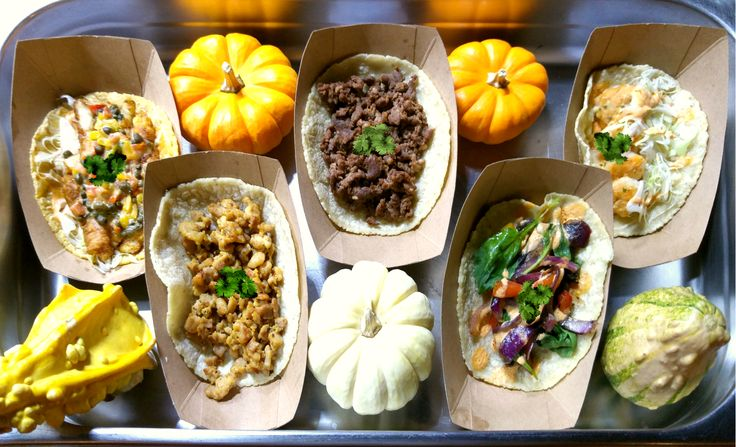 From our Taco De Calamar A La Veracruzana (far left) to our regular cast of delicious characters, enjoy October's mouth-watering ensemble today for lunch: 11A to 2P Vans Corporate HQ, 6550 Katella Ave #Cypress CA.  More: https://www.sohotaco.com/2015/10/19/showcasing-our-october-finest-at-todays-lunch-in-cypress-ca #tacocatering #ocfoodies