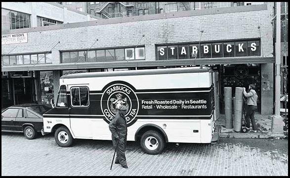 Starbucks Truck + Storefront