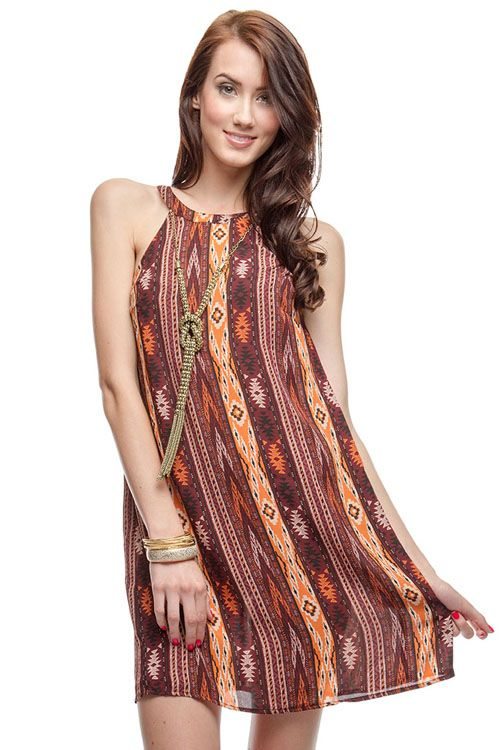 Ikat Tunic on Emma Stine Limited