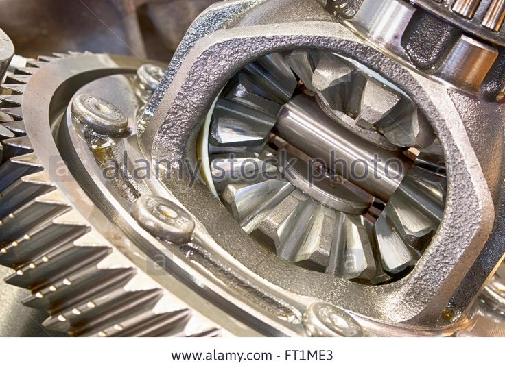 Gearbox Parts Of A Passenger's Car In Close Up Stock Photo, Royalty Free Image: 100841611 - Alamy