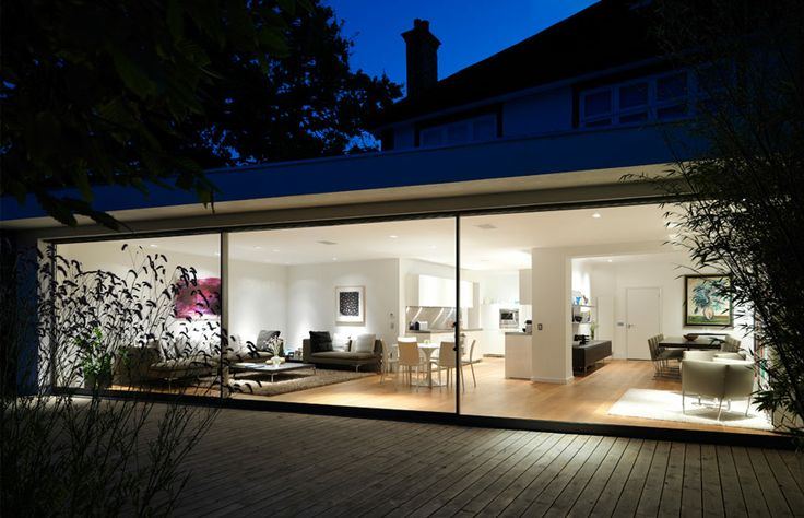 Gregory Phillips Architects - Muswell Hill, London - Award Winning Extension dnd Remodelling of Metropolitan Style Family Home .