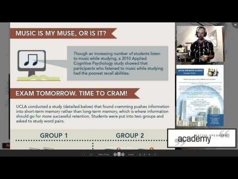 Useful Stuff - 007 - Studying How to Study - YouTube