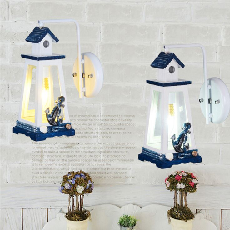 The 25 best mediterranean kids lamps ideas on pinterest diy mediterranean lighthouse modern sconce wall lights e27 led wall lamp children room kids wall led lamp aloadofball Image collections