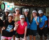 Intercambio no Caribe | Fazendo amigos de outros paises. Inglaterra, EUA, Canada, St Vincent e Trinidad e Tobago