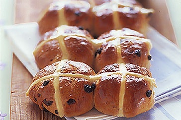 Nothing says Easter like traditional Hot Cross Buns!