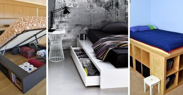Kreatywnie zaprojektowane łóżka, dzięki którym zyskasz bardzo dużo wolnej przestrzeni!