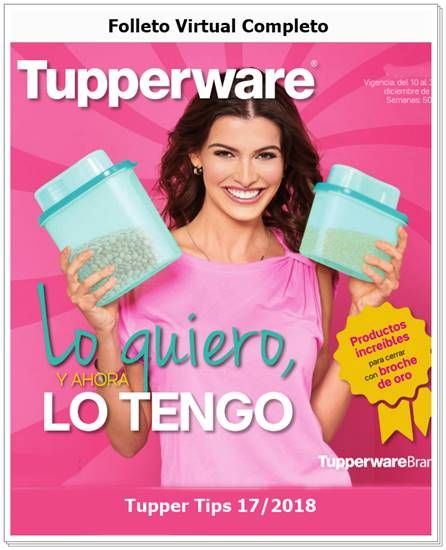 Tupperware Catalogo Tupper Tips 17 2018  39ab70312a0