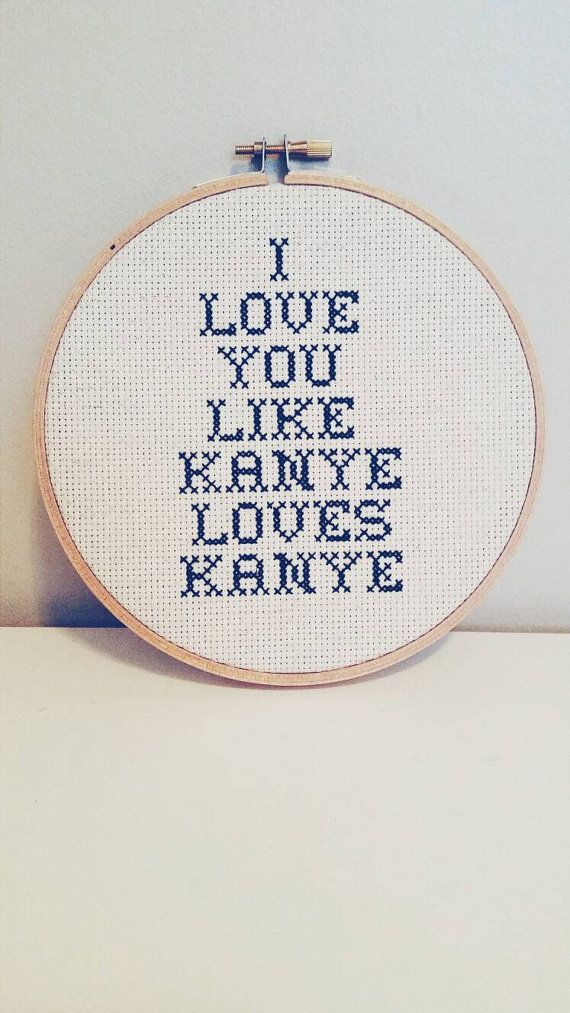 I love you like kanye loves kanye 6 subversive by holystitches101