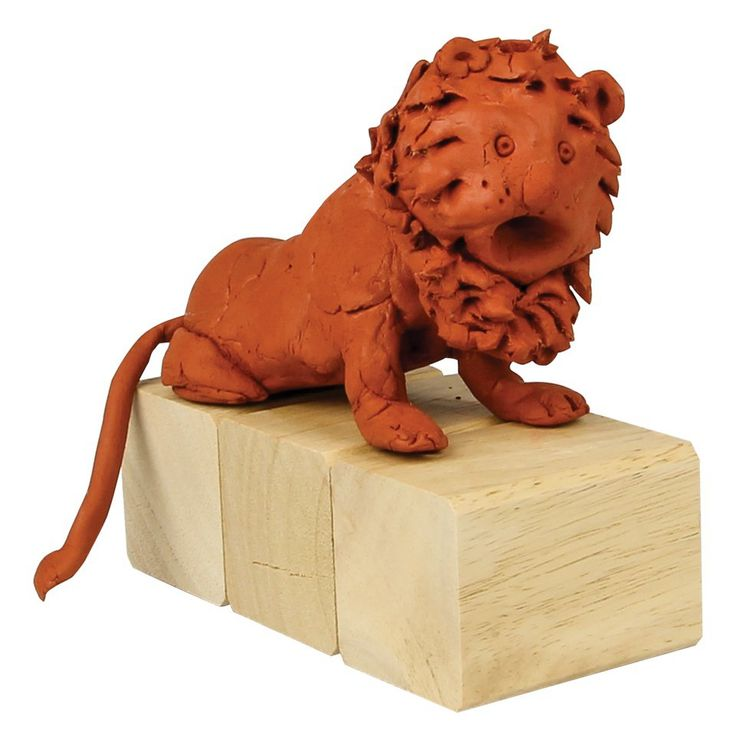 Roar! 'The Stone Lion' Clay Lion Statue - a fun activity for Book Week!