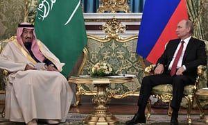 10/17/2017 SAUDI ARABIA: King Salman bin Abdulaziz Al Saud's visit to Russia heralds shift in global power structures. The Guardian, guardian.com.