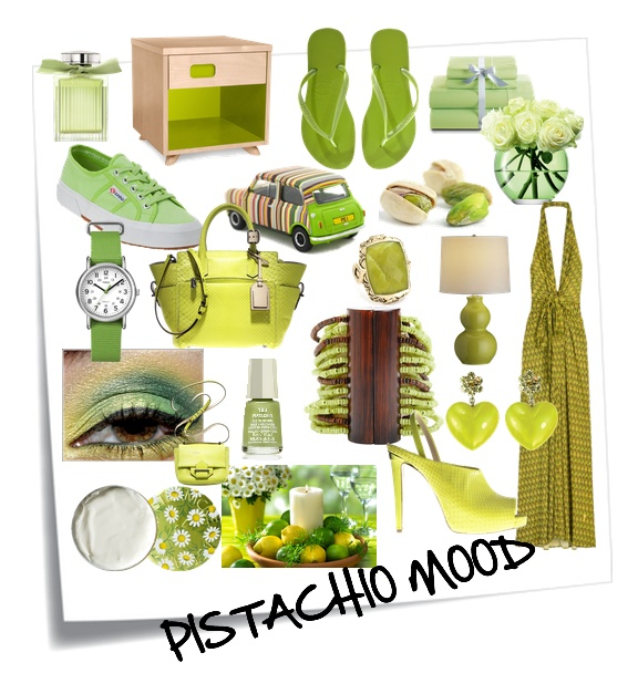 We love pistachio
