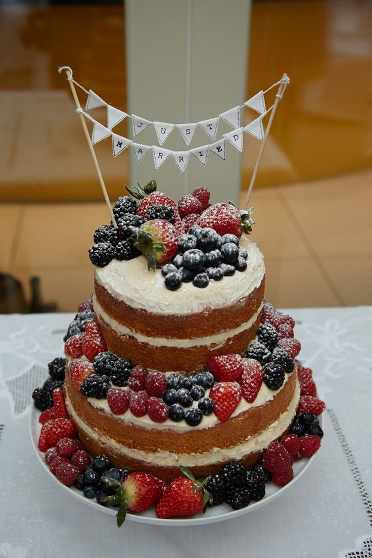 134 Best Fresh Fruit Wedding Cakes Images On Pinterest Weddings - Fresh Fruit Wedding Cake
