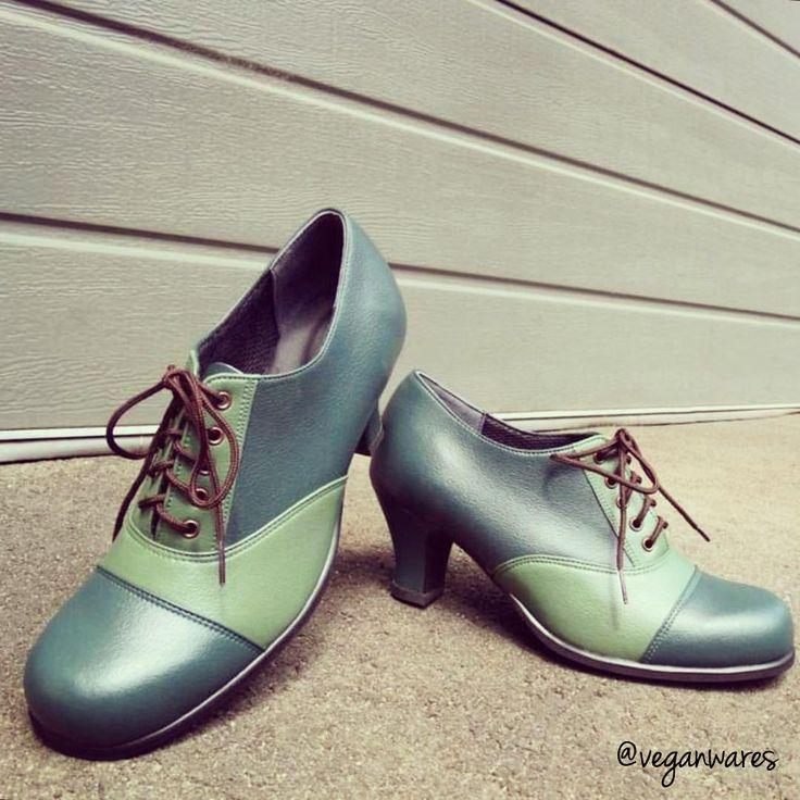 Vegan wedding shoes.