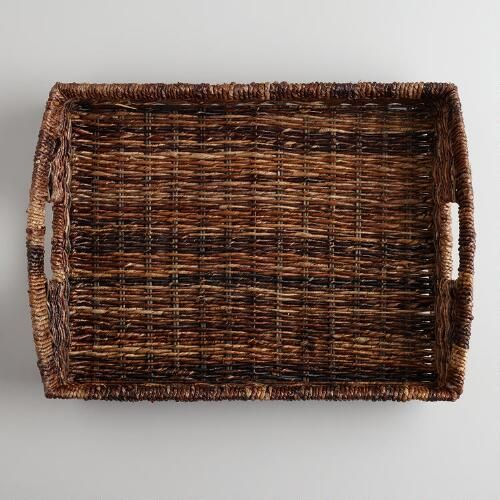 One of my favorite discoveries at WorldMarket.com: Madras Serving Tray